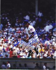 TURK WENDELL CHICAGO CUBS  ACTION SIGNED 8x10