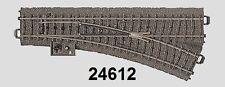 Märklin H0 24612 voie C Aiguillage à droite NEUF + EMBALLAGE D'ORIGINE