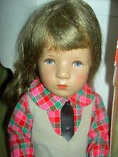 """Vintage German Kathe Kruse, 14"""" Miriam girl doll orig. clothes, stamped foot MIB"""