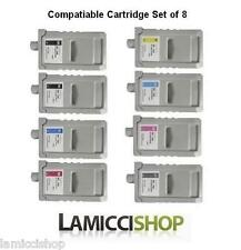 New 700ml WF PFI-706 8 Color Ink set Cartridges for Canon ipf 8300s 8400s 9400s