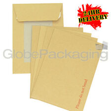 100 x C5 A5 BOARD BACK BACKED ENVELOPES 229x162mm PIP