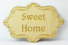 Personalized Laser Engraved Wooden Plaque / Wedding Gift / Family Sign