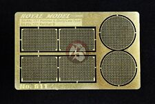 """Royal Model 1/35 """"Engine Grill Screen"""" for Sd.Kfz.171 Panther Ausf.A/D Tanks 611"""