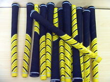 13 AVON PRO D2X MULTI COMPOUND GOLF GRIPS PRIDE YELLOW