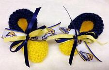 HOCKEY FANS!!! Buffalo SABRES Baby Booties