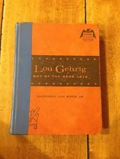 1959 LOU GEHRIG  BOY OF THE SAND LOTS-BY GUERNSEY VAN RIPPER HARDBACK