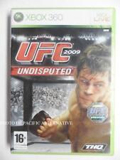 jeu UFC 2009 UNDISPUTED sur xbox 360 en francais game spiel juego gioco complet