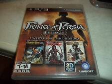Prince of Persia Classic Trilogy HD (Sony PlayStation 3, 2011) Complete