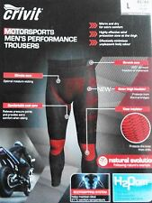 Crivit Sports Men's thermal under base layer Motorcycle Trousers SIZE L