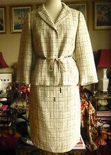 BNWT Maxmara couture fabric jacket skirt suit dress, sz 46 / US 10, $1895