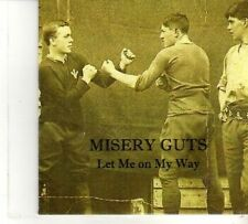 (DR196) Misery Guts, Let Me On My Way - 2012 DJ CD