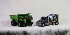 Transformers Revenge of the Fallen Voyager Mixmaster and Longhaul Complete