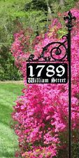 Reflective Address Sign Yard Home House Numbers