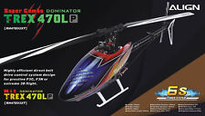 DHL Ship - New ALIGN RH47E02XW T-REX 470LP Super Combo Electric Helicopter