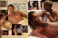 PLAYGIRL 7-78 HAIRY MICHAEL REDFORD ROGER MOORE NUDE CELEBS MAHARIS JAN MICHAEL
