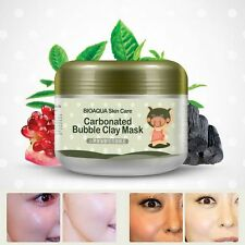 Sleeping Moisturizing Oxygen Bubbles Mud Natural Face Mask Whitening Deep Clear