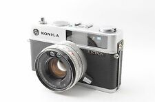 Konica Electron 35mm Film Rangefinder Camera from japan #397
