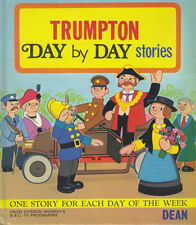TRUMPTON DAY BY DAY STORIES - DEAN 1973 FIRST EDITION HB Book - VG Condition