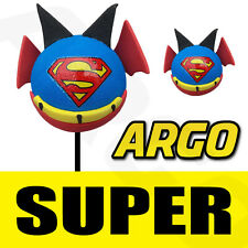 SUPERMAN SUPERGIRL BOY HERO DC BEE STING AERIAL ANTENNA TOPPER BALL TOY CAR PEN