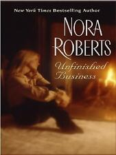 Unfinished Business, Roberts, Nora, Good Book