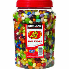 Jelly Belly 4 lb pound-49 Gourmet Flavor Beans-Kirkland-64 oz-Fresh & Fast Ship!