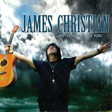 James Christian  lay it all on me     CD   Frontiers Records  2013