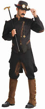 Steampunk Gentleman Costume Industrial Victorian Revolution Costume Adult STD