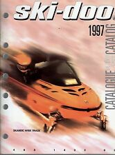 1997 SKI-DOO SKANDIC WIDE TRACK SNOWMOBILE PARTS MANUAL P/N 480 1433 00  (506)