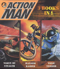 "Action Man: ""Taken by Stealth"", ""Toxic Terror"", ""Ransom Raider"" (Mini Books), ,"