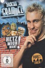 """SASCHA GRAMMEL """"HETZ MICH NICHT"""" 2 DVD COMEDY NEU"""