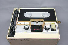 RARE VINTAGE RCA VICTOR 8-TR-3 ORTHOPHONIC TUBE REEL TO REEL TAPE RECORDER DECK