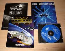 PC Game Spiel - X-Com - Interceptor - Microprose - Deutsch ( XCOM X Com )
