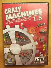 NEW SEALED Crazy Machines 1.5 - More Gizmos, Gadgets & Whatchamacallits