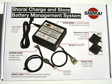 Shorai Battery Charger Dedicated Charge / Store Management System LFX Lithium