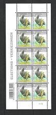 BELGIQUE - BELGIUM - BUZIN - OISEAUX / BIRDS (FOULQUE MACROULE) - BLOC 10V**MNH