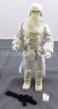 """Star Wars 12"""" Imperial Snowtrooper w/ Blaster Rifle & Commlink Hasbro 1999 OOP"""