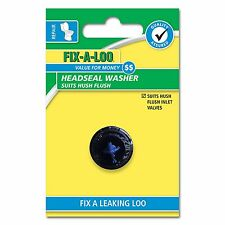 Fix-A-Loo HEADSEAL WASHER for Hush Flush Inlet Valves - 2 Pieces