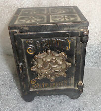 old painted cast iron Security Safe Deposit bank