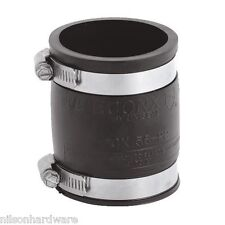"""Flexible Fernco Rubber Boot 2"""" PVC Plastic Pipe Connector Coupling Coupler"""