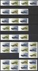 Ford Capri u. Porsche 911 Targa - versch. Zusammendrucke aus Maxiset - pfr. skl.