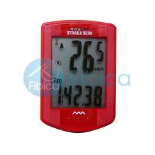 New CATEYE STRADA Slim Wireless Computer Speedometer CC-RD310W Red