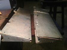 pair of Vultee BT-13 elevator trim tabs