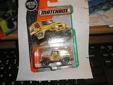 Toyota Land Cruiser FJ40 #120 2017 Matchbox Case A