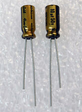 10x Nichicon MUSE FG 10uF 50V (Fine Gold) Audio-Grade Capacitor USA Seller