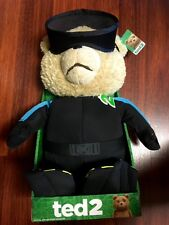 Ted 2 Ted in Scuba Outfit 16 R-Rated Animated Talking Plush Teddy Bear DEFECTIVE