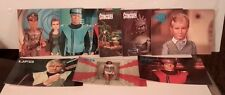Vintage Garry Anderson UFO/STINGRAY/SCARLET/90 Postcard Lot of 8-FREE S&H)M2996)