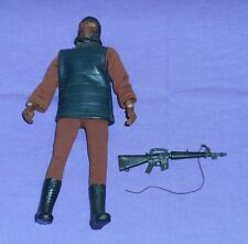 vintage Mego Planet of the Apes pota SOLDIER APE with gun (missing bandolier)