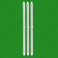 3x 400W Halogen Heater Replacement Tubes 242mm Fire Bar Heater Lamp Element Bulb