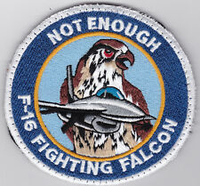 F-16C SWIRL  FLIGHT HOURS    AIR FORCE  NOT ENOUGH