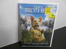 TWO BROTHERS  NEW Widescreen Twin Tiger Cubs Live a Carefree Life  FAMILY MOVIE!
